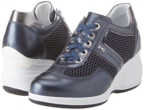 Giardini Donna Nero Blu Oxigen Sneaker P86x4BA