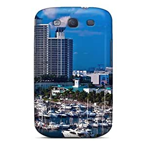 New Style Saraumes Miami Florida Usa Premium Tpu Cover Case For Galaxy S3