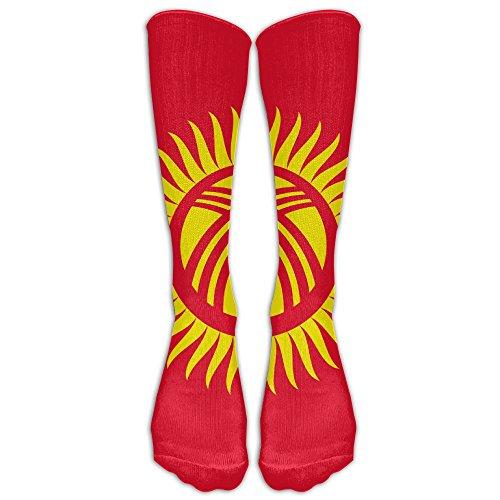Flag Of Kyrgyzstan   Long Casual Socks Knee High Socks