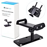 #8: DJI Mavic Pro DJI Spark Accessories, HOBBYTIGER Aluminum-Alloy Foldable Extender 4-12 Inches Tablet Mount Holder for Mavic Pro / Mavic Platinum, DJI Spark Remote Controller