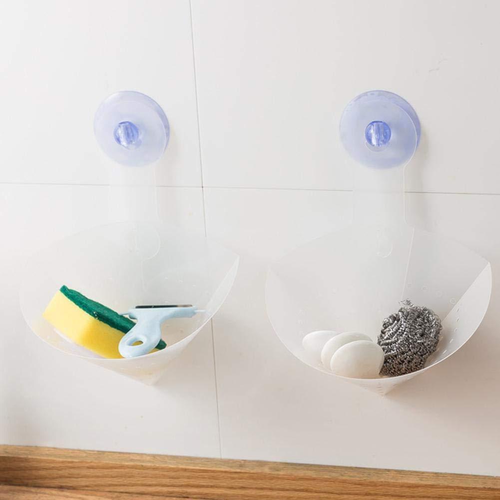 Filtro Anti-obstrucci/ón de Fregadero de 3 piezas Autoportante Transparente /& Reutilizable fregadero cocina antibloqueo dispositivo