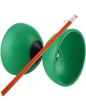 VGEBY1 Diábolo, Yoyo Chino con palitos de Diablolo para Actividades al Aire Libre Juegos Jóvenes