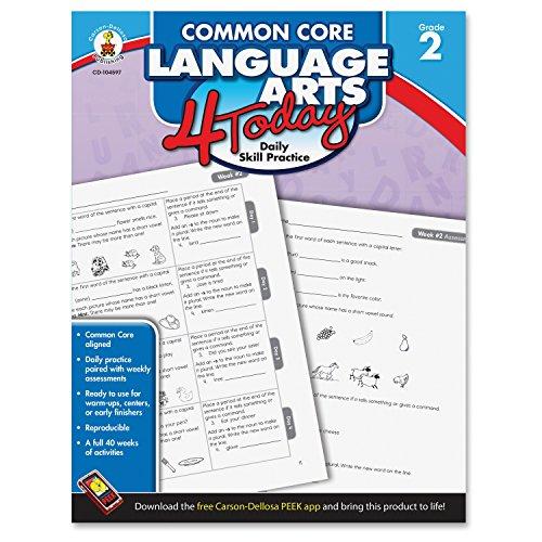 Carson-Dellosa Publishing Common Core Language Arts 4 Book - English (CDP104597) ()