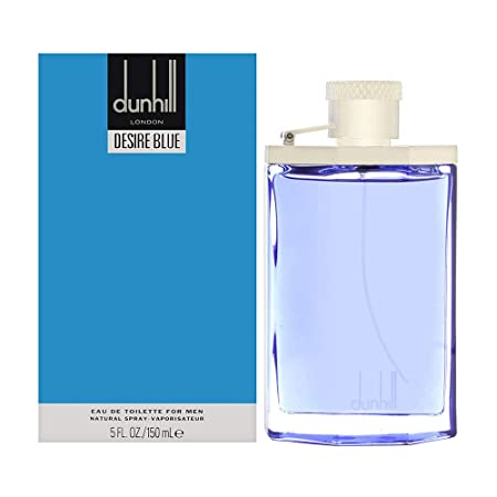 Alfred Dunhill Desire Blue EDT Spray for Men, 5 Ounce