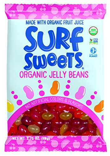 Surf Sweets Organic Jelly Beans -- 2.75 oz Each / Pack of 2