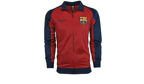 FC Barcelona chaqueta pista de fútbol tallas de adulto fútbol fútbol  oficial mercancía - -  Amazon.es  Ropa y accesorios 06ea4df895d