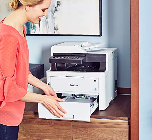 Brother MFC-L3750CDW Digital Color All-in-One Printer, Laser Printer Quality, Wireless Printing, Duplex Printing, Amazon Dash Replenishment Enabled by Brother (Image #8)