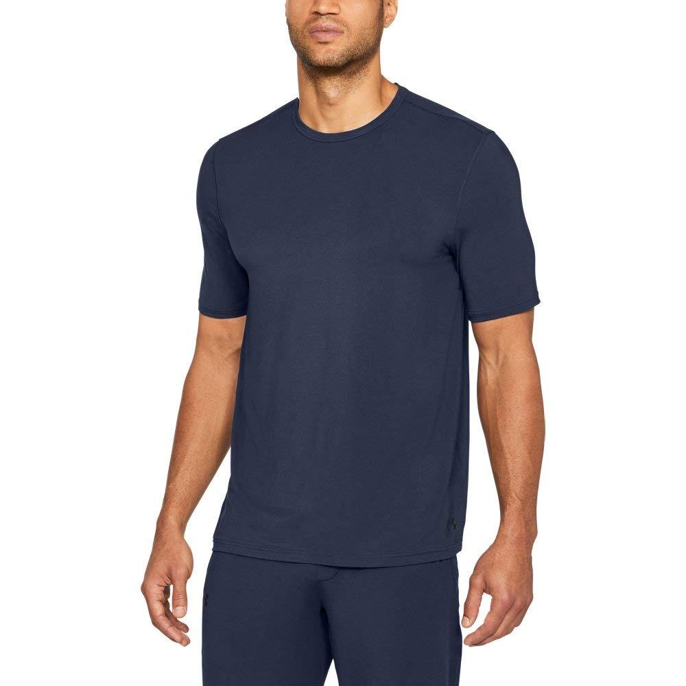Galleon - Under Armour Men s Athlete Ultra Comfort Recovery Short Sleeve  Sleepwear 9ae242167