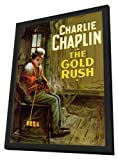 The Gold Rush 27 x 40 Movie Poster - Style B - in Deluxe Wood Frame