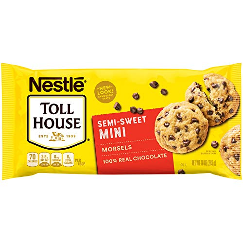 Nestle Toll House Semi-Sweet Chocolate Chips Mini Morsels, 12 Count by Nestle