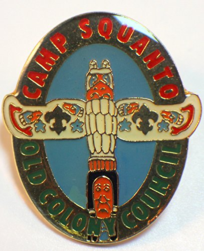 Boy Scouts Bsa Uniform Pin Camp Squanto Old Colony Council Council Boy Scout Patch