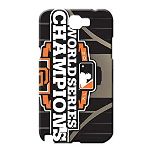samsung note 2 Classic shell Defender Hot Style cell phone carrying covers san francisco giants mlb baseball