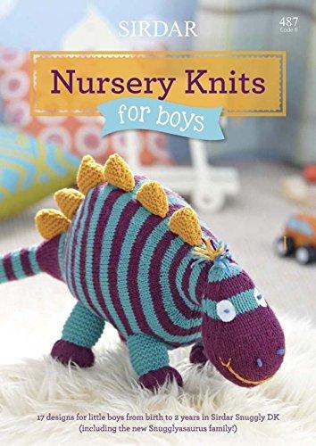 Sirdar Baby Nursery Knits For Boys 487 Knitting Pattern Book (Sirdar Knit Pattern)