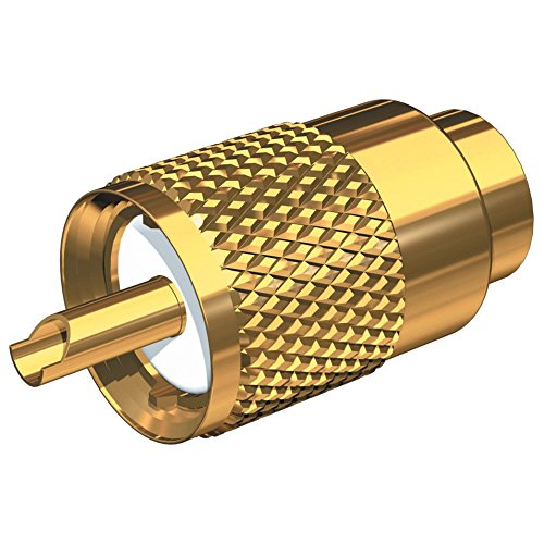 Shakespeare Center Pin - Shakespeare Cordage Gold Plated PL-259 Connector