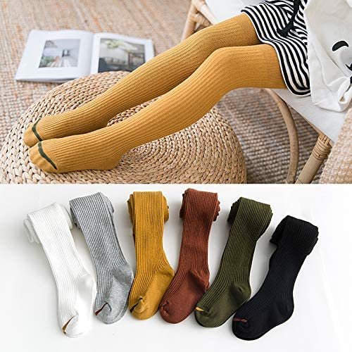 Knitted Tights Pantyhose for Baby Girls