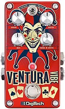 DigiTech -ventura-vibe Rotary/Vibrato Pedal Guitar-Multi-Effects