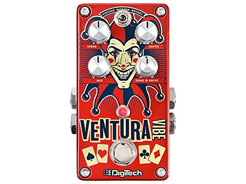 Rotary Effect (DigiTech usm-ventura-vibe Rotary/Vibrato Pedal Guitar-Multi-Effects)