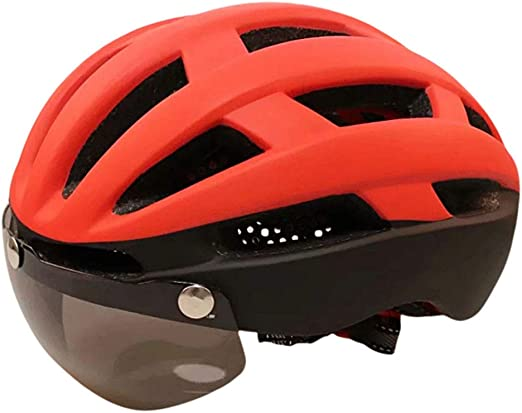 XYL Casco de Bicicleta de Carretera Advertencia de luz Trasera LED ...