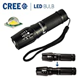 MENGCORE® 1200lumens Super bright Cree XML T6 zoomable led flashlight use AAA 18650 26650 battery for camping hunting