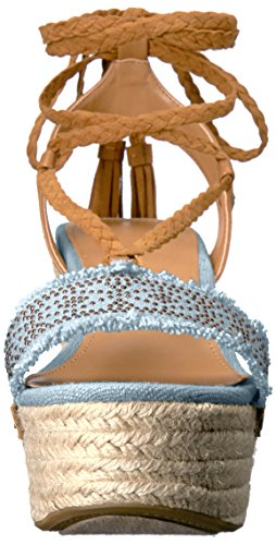 Women's Fabric Light Tommy Ankle Hilfiger Blue Lovelle Fabric Pump High AAr8U5qxY