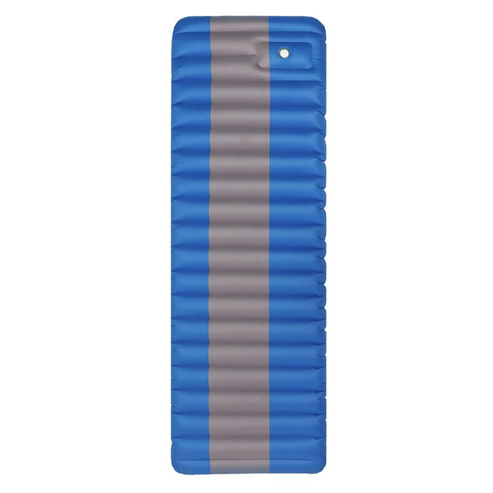 LBAFS Outdoor-Fuß-aufblasbares Kissen-Wasserdichte Bequeme Tragbare Kampierende Schlafenauflage Für Das Reise-Wandern,Blau