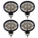 WL956 New Aftermarket (Four) LED Flood Light Lamp made to fit Case IH John De...