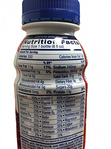 Ensure Complete (Formerly Clinical Strength) Strawberry 24/8-Fl-Oz-Bottle - 1 Case Of 24 by Abbott Nutrition (Image #1)