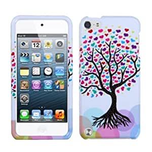 Quaroth - MyBat Love Tree Protector Cover for iPod touch 5