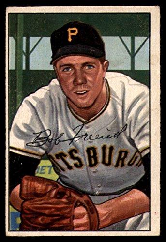 1952 Bowman # 191 Bob Friend Pittsburgh Pirates (Baseball Card) Dean's Cards 3 - VG Pirates ()