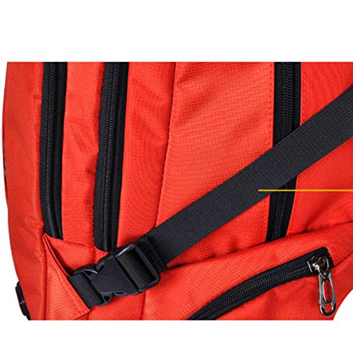 Travel Dhfud Bag Men's Vibrantorange Business Capacity Leisure Backpack Package Large wX7wxOqr