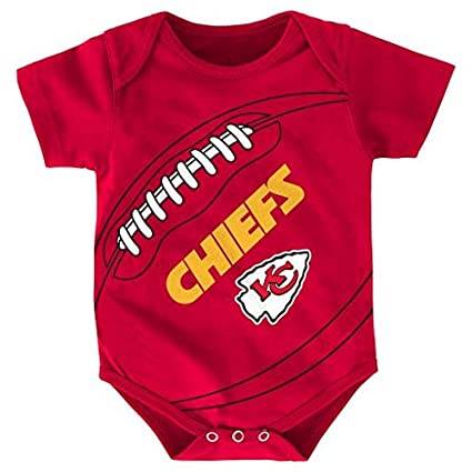 classic fit d7006 4f9ca Outerstuff NFL Kansas City Chiefs Creeper