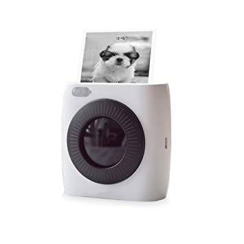 KJRJBQ Impresora fotográfica y de Etiquetas compacta en ...