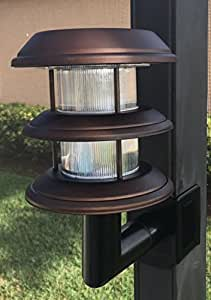 Solar Lanai Lights 7000BR 4 4 Solar Clip on for Screen Enclosures and Pool Cages