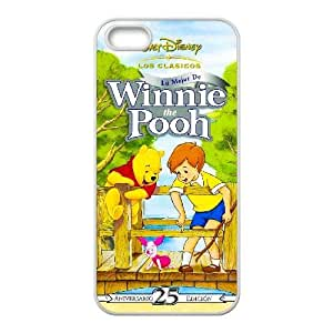 Generic for iPhone 4 4s Cell Phone Case White The Many Adventures of Winnie the Pooh Custom HAAFFGKGK3915