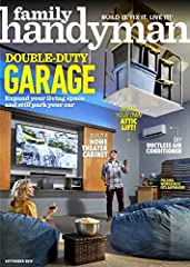 The #1 magazine for Do-it-yourself homeowners. Step-by-step maintenance, repair and improvement projects, plus tool skills, DIY tips, and product buying advice. Lots of great ideas on storage, weekend projects, improving your yard, woodworkin...