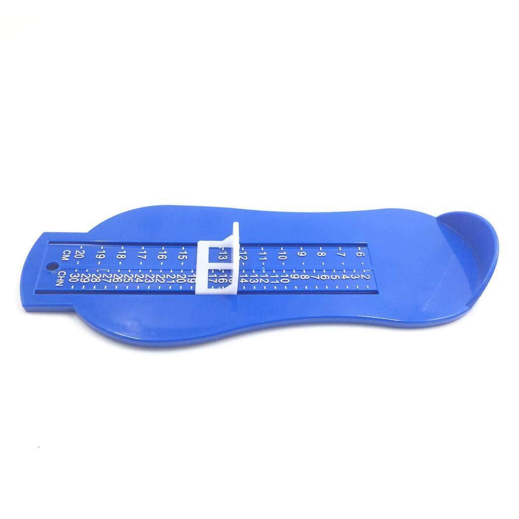 Gijoki Household Plastic Children Foot Length Measuring Ruler Baby Feet Measurer Shoe Measuring Devices