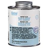 Oatey 30894 PVC Rain-R-Shine Cement, Blue, 32-Ounce