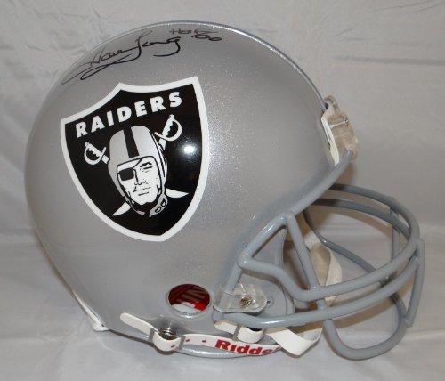 - Howie Long Autographed F/S Oakland Raiders w/ HOF ProLine Helmet- JSA Witnessed