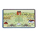 MAYSHINE Non-Slip Doormats Cotton Door Mat Mud Dirt Trapper Mats Entrance Rug Shoes Scraper Floor Indoor/Outdoor (Multi011)