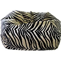 Gold Medal Bean Bags 30008465932 Small Suede Bean Bag for Children, Bengali Tiger Print