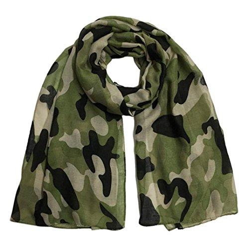 Lavany Elegant Women's Pashmina Scarf Camouflage Wrap Shawl Scarves (H)