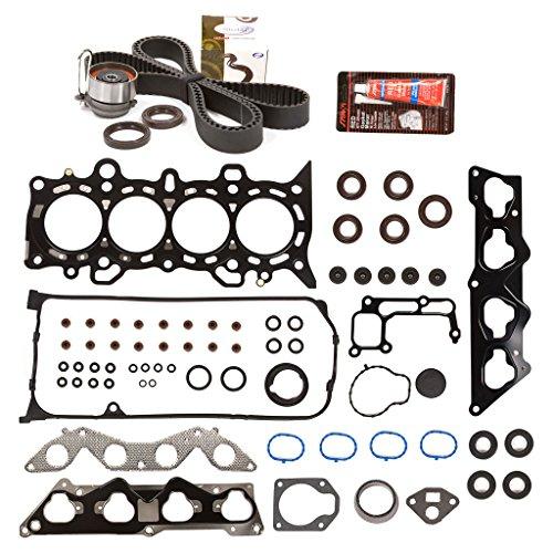 Evergreen HSTBK4034 Head Gasket Set Timing Belt Kit Fits 01-05 Honda Civic 1.7 D17A2 D17A6 ()