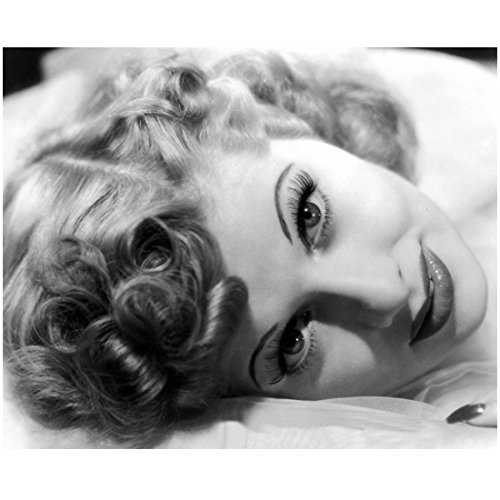 Lucille Ball 8 x 10 photo I Love Lucy The Lucy Show Here's Lucy B&W Pic Stunning Headshot Lying on Right Side kn