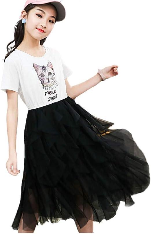 FHYER Las niñas Visten Falda Princesa Camiseta niños Ropa para ...