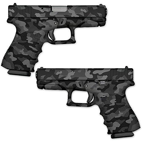 MightySkins GunWraps Pistol Wrap Decal Camouflage Handgun Kit (Glock 22 Gun Skin)