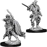 Amazon com: D&D Nolzur`s Miniatures W9: Female Human, Fighter