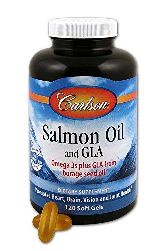 Carlson Salmon Oil GLA Softgels