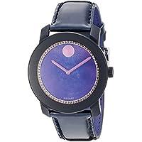 Movado 3600268 Bold Purple Ladies Watch