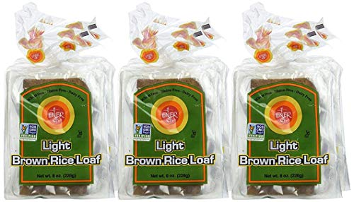 (Ener-G Foods Light Brown Rice Loaf, 8-Ounce Packages (Pack of 6))
