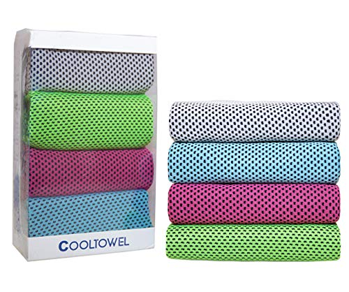 Cooling Towel 4 Pack Gift Box 40